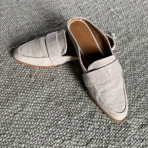 Backless loafer mules by universal thread